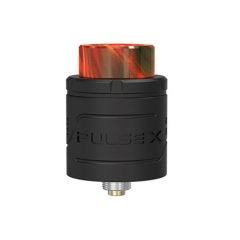 (Ships from Germany)Authentic Vandy Vape Pulse X 24mm RDA Rebuildable Dripping Atomizer w/ BF Pin - Black