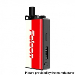 Authentic OVANTY Falcon 40W 950mAh VW Variable Wattage Pod System Starter Kit 1.8ml - Red