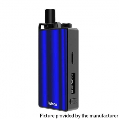 Authentic OVANTY Falcon 40W 950mAh VW Variable Wattage Pod System Starter Kit 1.8ml - Blue