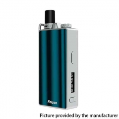 Authentic OVANTY Falcon 40W 950mAh VW Variable Wattage Pod System Starter Kit 1.8ml - Green