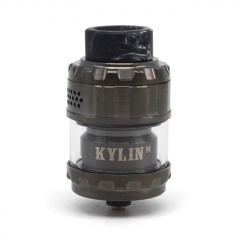 Kylin M Style 24mm RTA Rebuildable Tank Atomizer 3ml/4.5ml  - Gun Metal