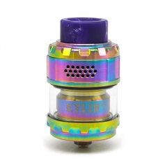 Kylin M Style 24mm RTA Rebuildable Tank Atomizer 3ml/4.5ml  - Rainbow