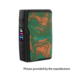 Authentic Vandy Vape Swell 188W TC VW VV Waterproof APV Box Mod - Swamp Green