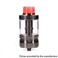 Authentic G-taste Aries 30mm RTA Rebuildable Tank Atomizer 10ml - Gun Metal