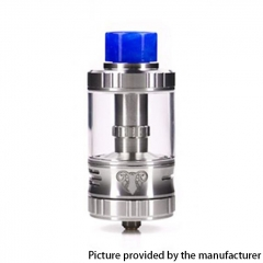 Authentic G-taste Aries 30mm RTA Rebuildable Tank Atomizer 10ml - Silver