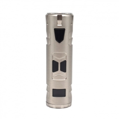 Authentic Rincoe Mechman 80W 18650 TC VW Variable Wattage Mod - Silver