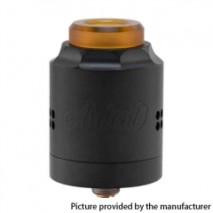 Authentic Timesvape Ardent RDA 27mm Rebuildable Dripping Atomizer - Black