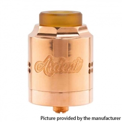 Authentic Timesvape Ardent RDA 27mm Rebuildable Dripping Atomizer - Copper