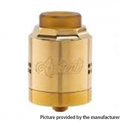 Authentic Timesvape Ardent RDA 27mm Rebuildable Dripping Atomizer - Brass