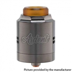 Authentic Timesvape Ardent RDA 27mm Rebuildable Dripping Atomizer - Gun Metal