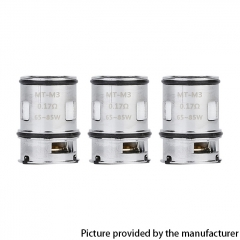Authentic VOOPOO Maat Replacement MT-M3 Coil Head 0.17ohm (3-Pack)