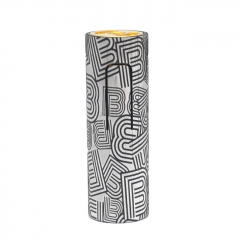 (Ships from Germany)ULTON Bestia Animal Style 18650 Hybrid Mech Mod 24mm (Aluminum) #4 Limited Edition- Black