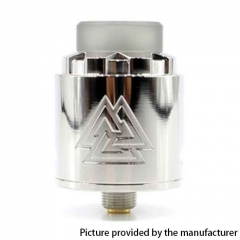 Authentic Amodvape VALR BF 24mm RDA Rebuildable Dripping Atomizer - Silver
