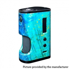 Authentic ULTRONER Aether Squonker 80W TC VW Variable Wattage Box Mod 18650 - Blue