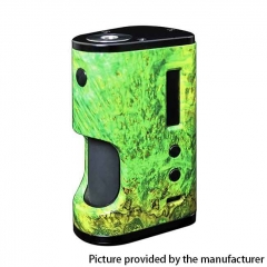 Authentic ULTRONER Aether Squonker 80W TC VW Variable Wattage Box Mod 18650 - Green