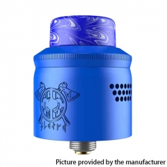 Authentic MECHLYFE x AmbitionZ Vaper Slatra RDA Rebuildable Dripping Atomizer w/BF Pin 25mm - Blue