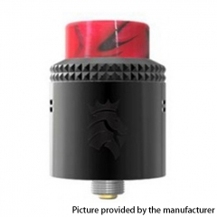 Authentic Kaees Alexander 24mm RDA Rebuildable Dripping Atomizer w/ BF Pin - Black