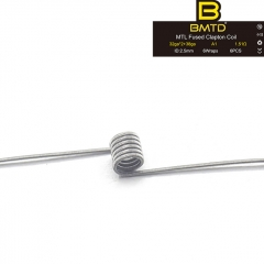 BMTD MTL Fused Clapton Coil A1 32GA*2+38GA 2.5mm (6pcs) - 1.51ohm
