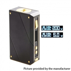 Authentic EHPRO Cold Steel 200 200W TC VV VW APV Box Mod (Regular Version) 18650 - Black