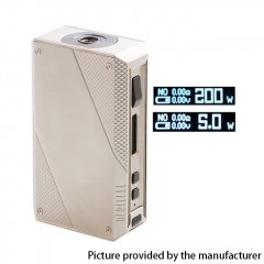 Authentic EHPRO Cold Steel 200 200W TC VV VW APV Box Mod (Regular Version) 18650 - Silver