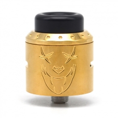 Exile Style 25mm RDA Rebuildable Dripping Atomizer w/BF Pin - Gold