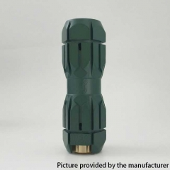 Underground MCM Style 18650/20700/21700 Hybrid Mechanical Mod 25mm - Army Green
