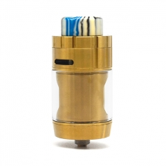FDX Mutant 26mm Mesh RTA Rebuildable Tank Atomizer 3.5ml - Gold
