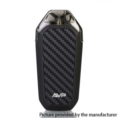 Authentic Aspire AVP 12W 700mAh All-in-one Pod System Starter Kit 2ml/1.2ohm - Black