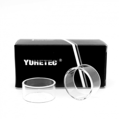 YUHETEC Replacement Glass Tank for Kylin M 24mm RTA 2pcs - Transparent