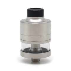 Vazzling HAKU Riviera Style 22mm RDTA Rebuildable Dripping Tank Atomizer - Silver