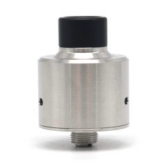 SER Hadaly 316SS Rebuildable Dripping Atomizer with Bottom Feeding Pin - Silver