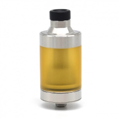 Vazzling 415 Style 22mm 316SS RTA Rebuildable Tank Atomizer 4.5ml - Silver