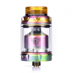 Authentic THC Tauren One 24mm RTA Rebuildable Tank Atomizer 4.5ml - Rainbow