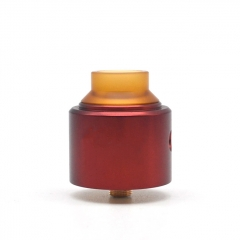 Shot Style 30mm RDA Rebuildable Dripping Atomizer - Red