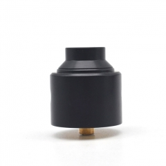 Shot Style 30mm RDA Rebuildable Dripping Atomizer - Black