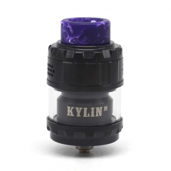(Ships from Germany)Kylin M Style 24mm RTA Rebuildable Tank Atomizer 3ml/4.5ml  - Black