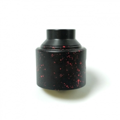 Shot Style 30mm RDA Rebuildable Dripping Atomizer - Black Red Dot