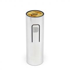 (Ships from Germany)ULTON Bestia Animal Style 18650 Hybrid Mech Mod 24mm (Aluminum) - Silver