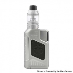 Authentic Tesla P226 220W TC VW Variable Wattage Box Mod + Tind Tank 4.5ml Kit - Silver
