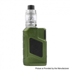 Authentic Tesla P226 220W TC VW Variable Wattage Box Mod + Tind Tank 4.5ml Kit - Green