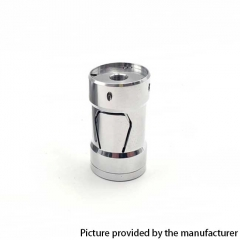 Piper Style 18350 Hybrid Mechanical Mod 22mm - Silver