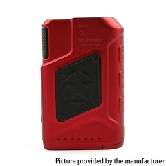 Authentic Teslacigs P226 220W TC VW Variable Wattage Box Mod - Red