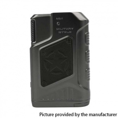 Authentic Teslacigs P226 220W TC VW Variable Wattage Box Mod - Gun Metal