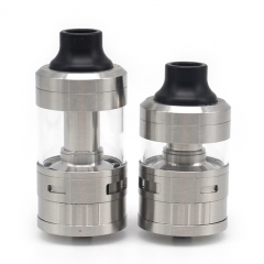 (Ships from Germany)ULTON Voltrove V2 Mini Style 30MM 316SS RTA Rebuildable Tank Atomizer 11ml - Silver
