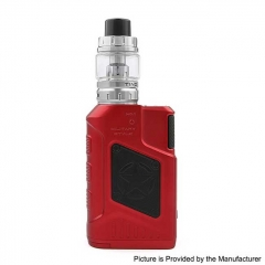 Authentic Tesla P226 220W TC VW Variable Wattage Box Mod + Tind Tank 4.5ml Kit - Red