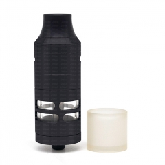 ULTON Korina V6 316SS RTA Rebuildable Tank Atomizer 1:1(DL Version) - Black