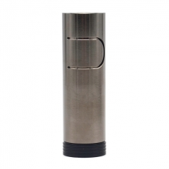 Ennequadro Imo 650 Style 18650 Hybrid Mechanical Mod 22mm - Gun Metal