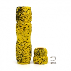 (Ships from Germany)Rockvape Titan Style Mechanical 18650/20700/21700 Tube Mod + Kennedy 24 Titan Style Cap - Yellow