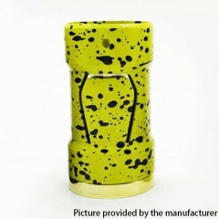 Piper Style 18350 Hybrid Mechanical Mod 22mm - Yellow