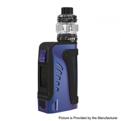 Authentic Wismec Reuleaux Tinker2 200W TC VW APV IP67 Waterproof Box Mod w/TROUGH Tank 6.5ml/0.35/0.2ohm Kit - Black Purple